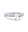 Valerie Engagement Ring with Swarovski