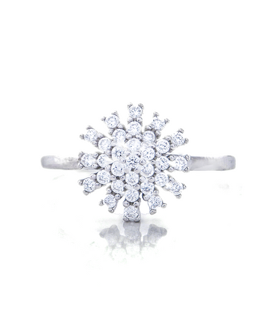 Samantha Promise Ring with Swarovski