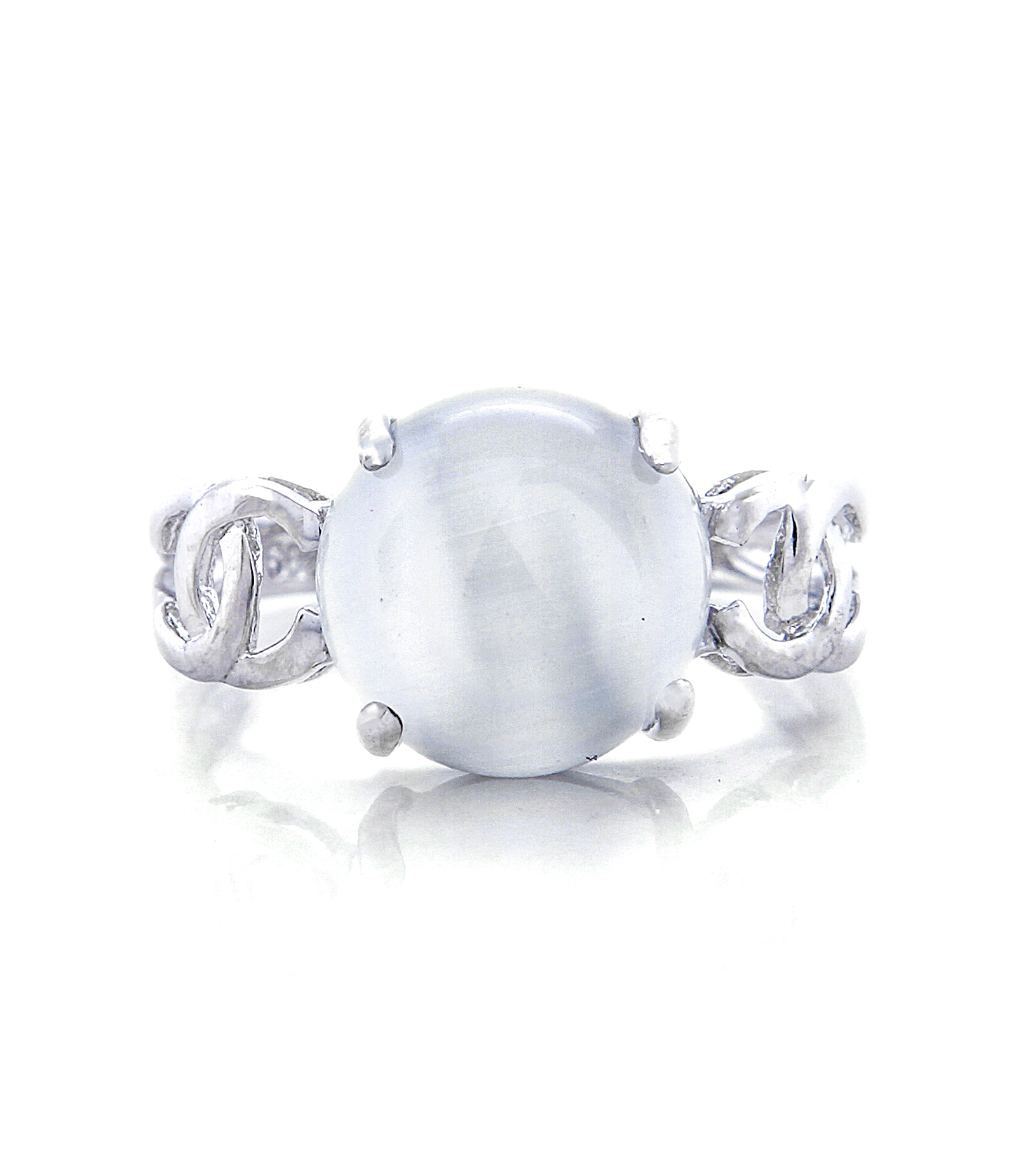 Greta in Moonstone Engagement Ring