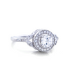 Sasha Engagement Ring with Swarovski