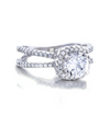 Emily Engagement Ring with Swarovski