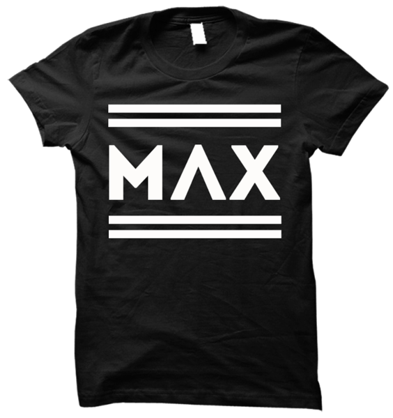 MAX Name Stripe Tee