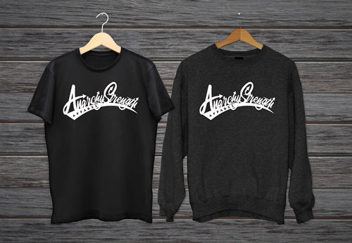 Graffiti logo Sweatshirt + t-shirt combo