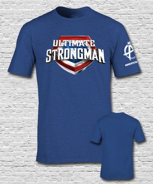 Ultimate Strongman  T-shirt Royal Blue
