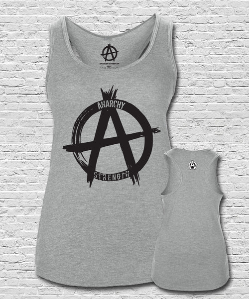 Logo Vest Heather Grey