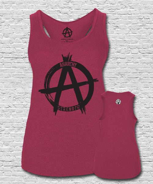 Logo Vest Heather Red