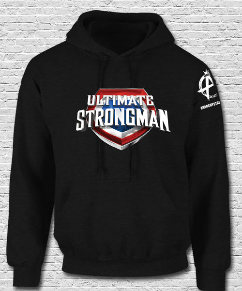 Ultimate Strongman  Hoodie Black