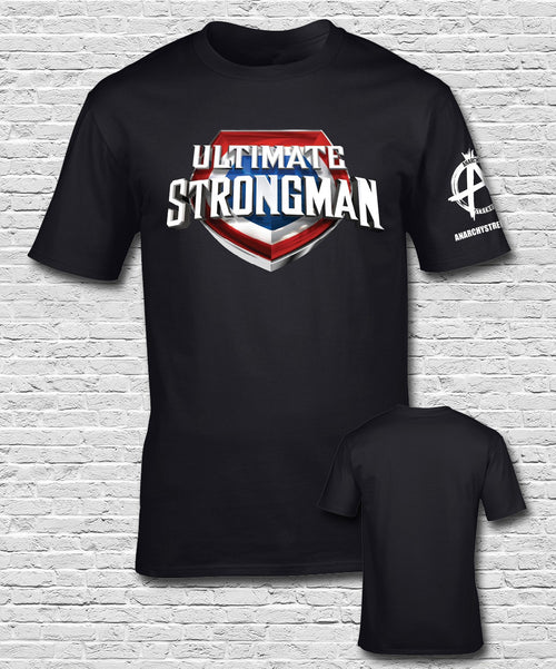 Ultimate Strongman  T-shirt Black