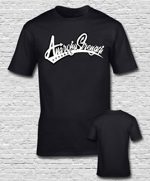 Graffiti logo short sleeve T-shirt