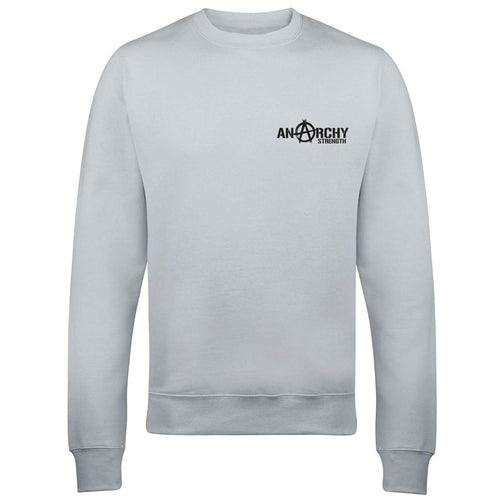 Grey sweatshirt with Black logo