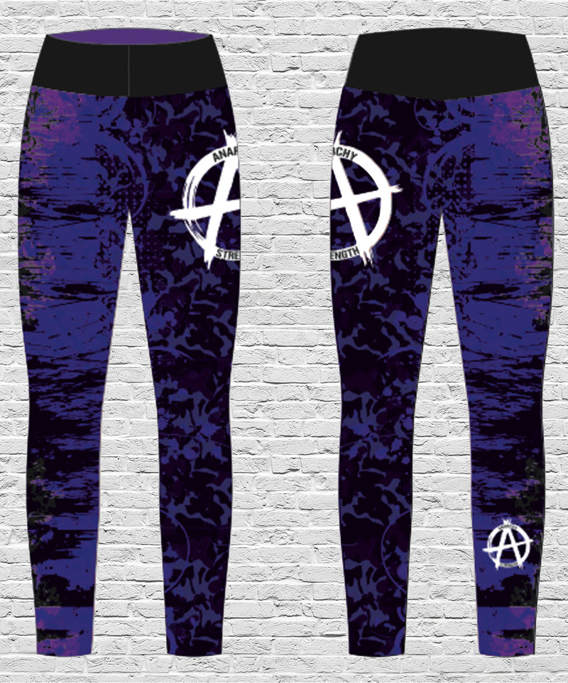 Ladies Purple Leggings