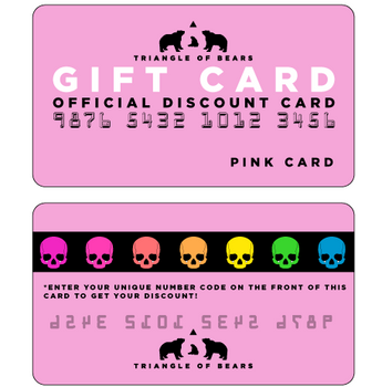PINK eGIFT CARD - Triangle of Bears