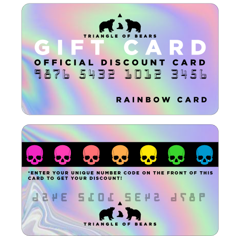 RAINBOW eGIFT CARD - Triangle of Bears