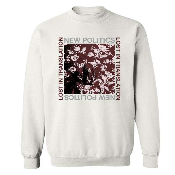 White Lost in Translation Crewneck