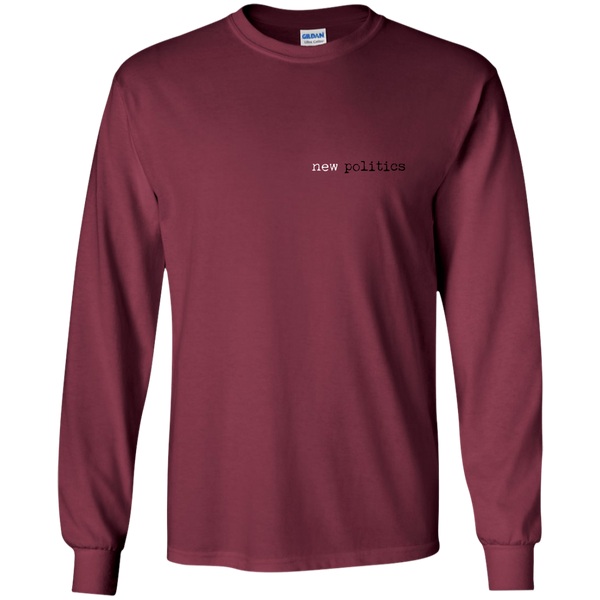 Black and Red 10 Year Anniversary Long Sleeve