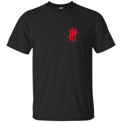 Black and Red 10 Year Anniversary Tee