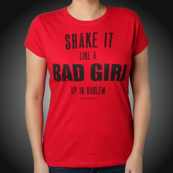 Ladies Shake It Like A Bad Girl T-Shirt