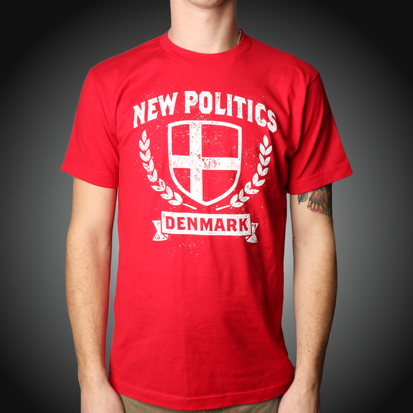 Red Denmark T-Shirt