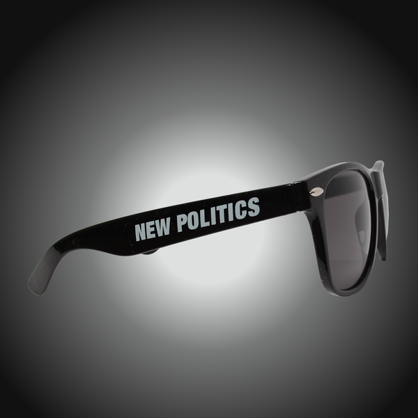 Black Logo Sunglasses