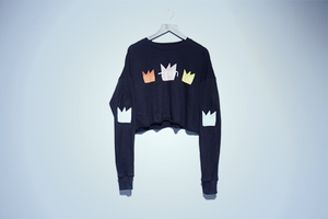 Crown Crop Sweatshirt