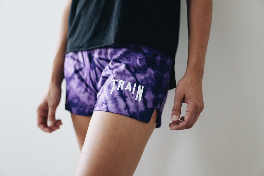 Soul Sister Purple Shorts