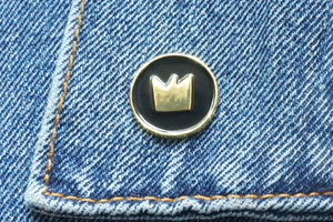 Gold Logo Lapel Pin
