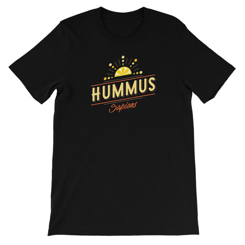 Hummus sapiens - vegan t-shirt for kids
