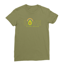 Love plant-based avocado - vegan t-shirt for women