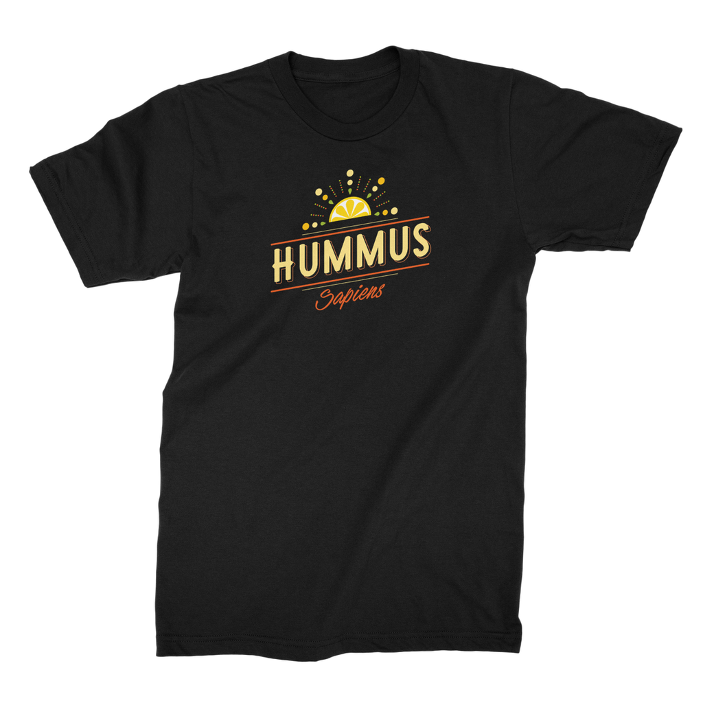 Hummus sapiens t-shirt for men