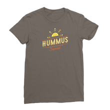 Hummus sapiens - vegan t-shirt for women