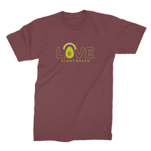 Love plant-based avocado - vegan t-shirt for men