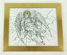 Golden Angel - framed print