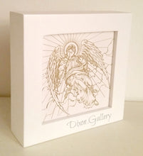 Golden Angel - small framed print