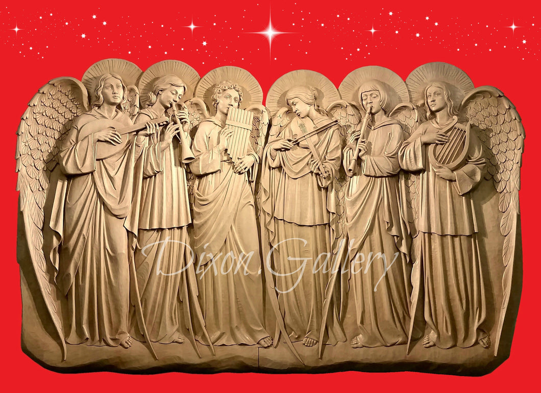Band of Angels - Christmas cards, dozen