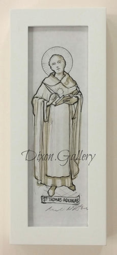 St. Thomas Aquinas - original drawing