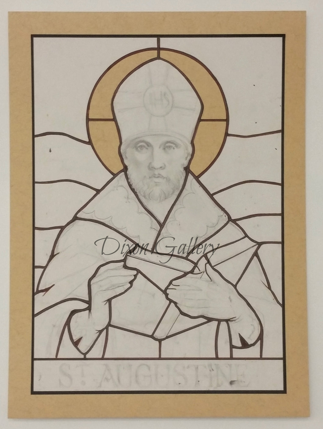 St. Augustine - original working drawing