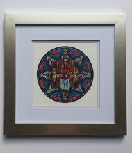 Christ the King - original design, framed