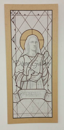 St. Cecilia - original working drawing