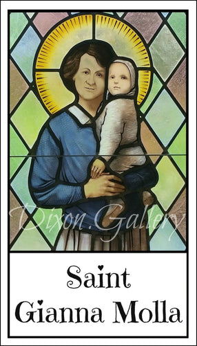 St. Gianna Molla Prayer Cards, dozen