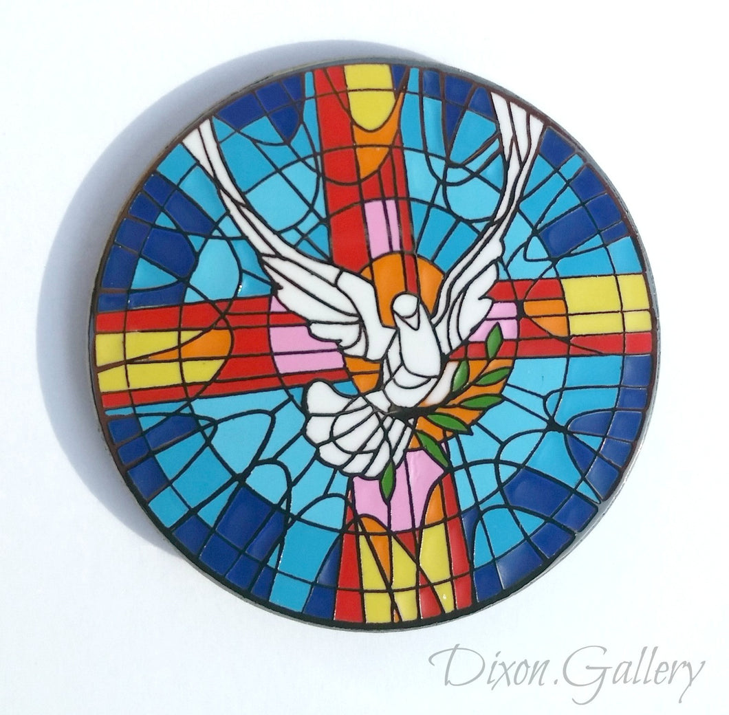 Holy Spirit - enamel pin