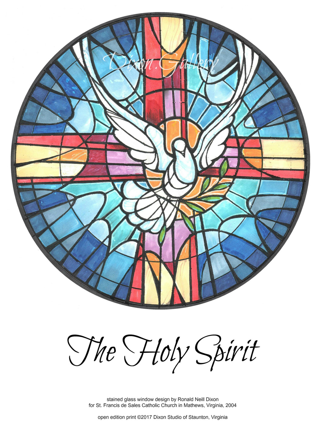 Holy Spirit - open edition print, unframed