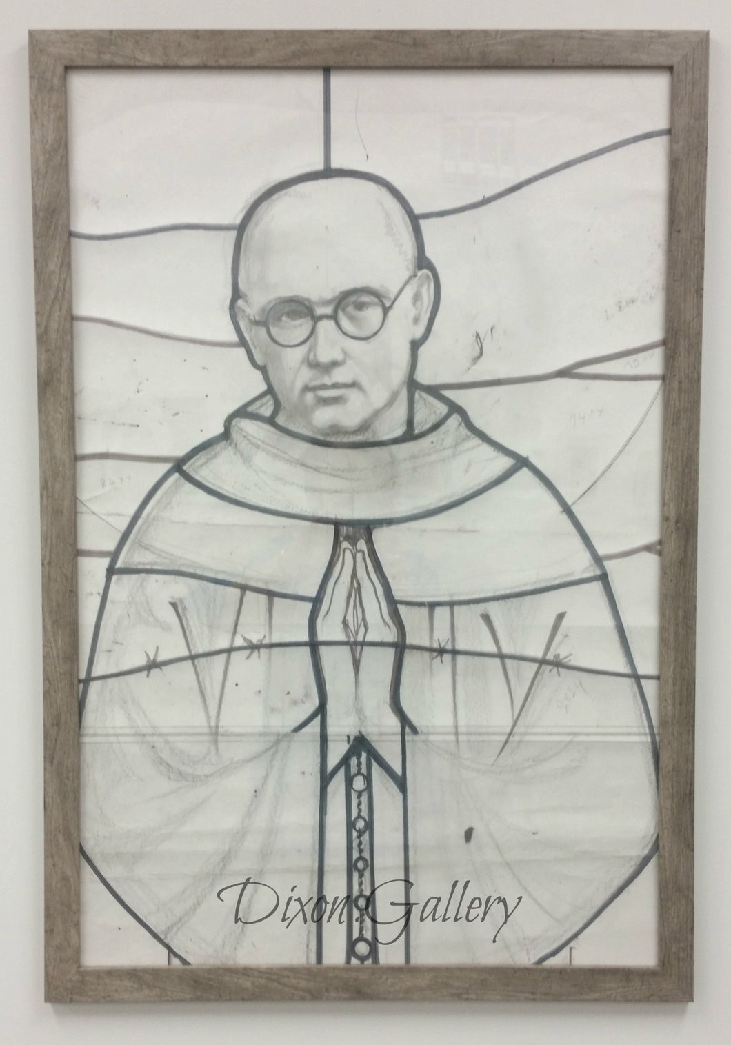 St. Maximilian Kolbe - Original Working Drawing