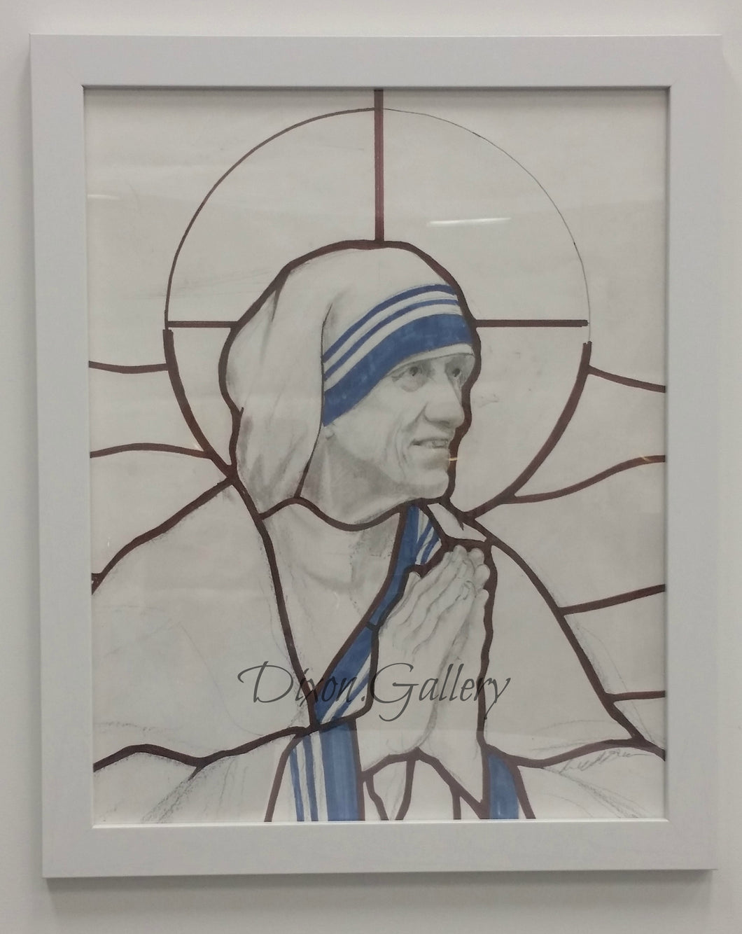 Mother Teresa - Working Drawing