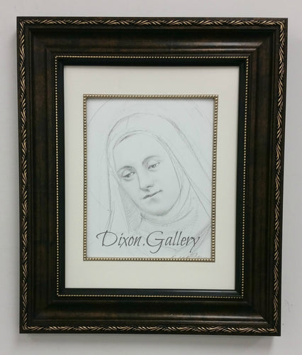 St. Therese of Lisieux Portrait - original drawing