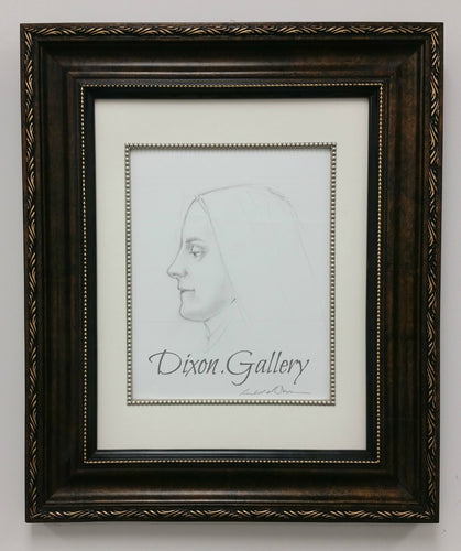 St. Therese of Lisieux Profile - original drawing