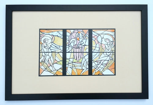 Holy Trinity - original design, framed
