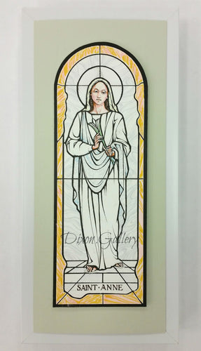 St. Anne - original design, framed