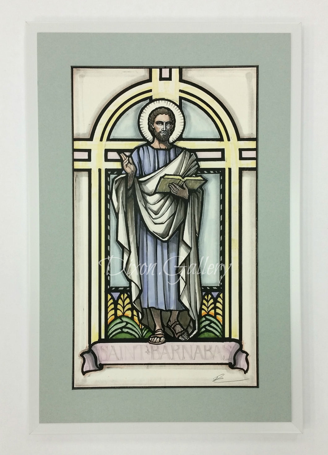 St. Barnabas - artist's proof, framed