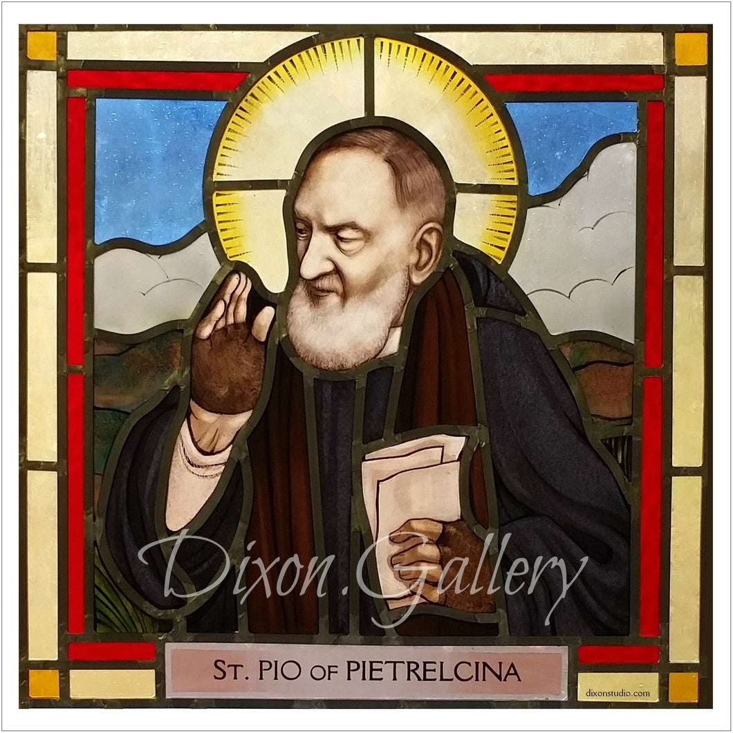 St. Pio Prayer Cards, dozen