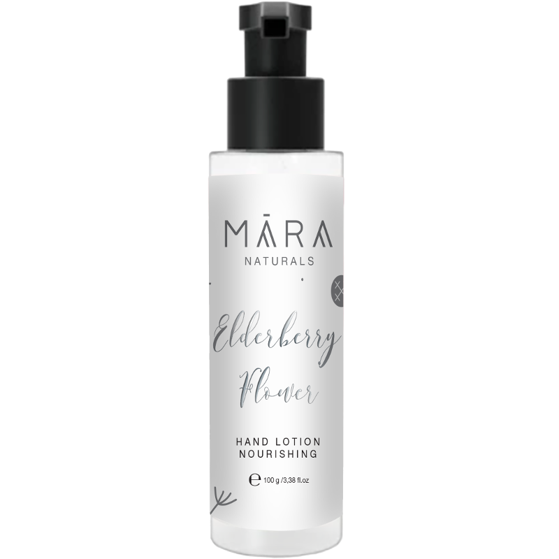 "Hand Lotion ""Elderberry Flower"" 100 ml_Mara Naturals"